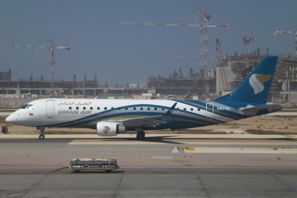 Oman Air A4O EC Embraer ERJ 175LR ERJ 170 200 LR