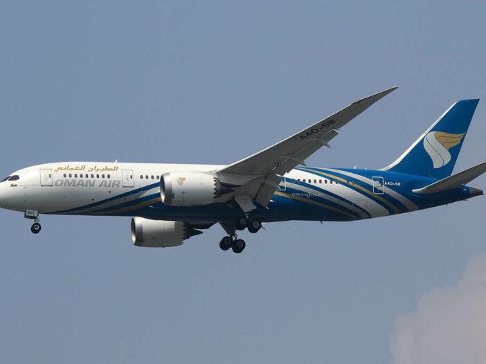 Oman Air A4O SB Boeing 787 8 Dreamliner at Bangkok Suvarnabhumi