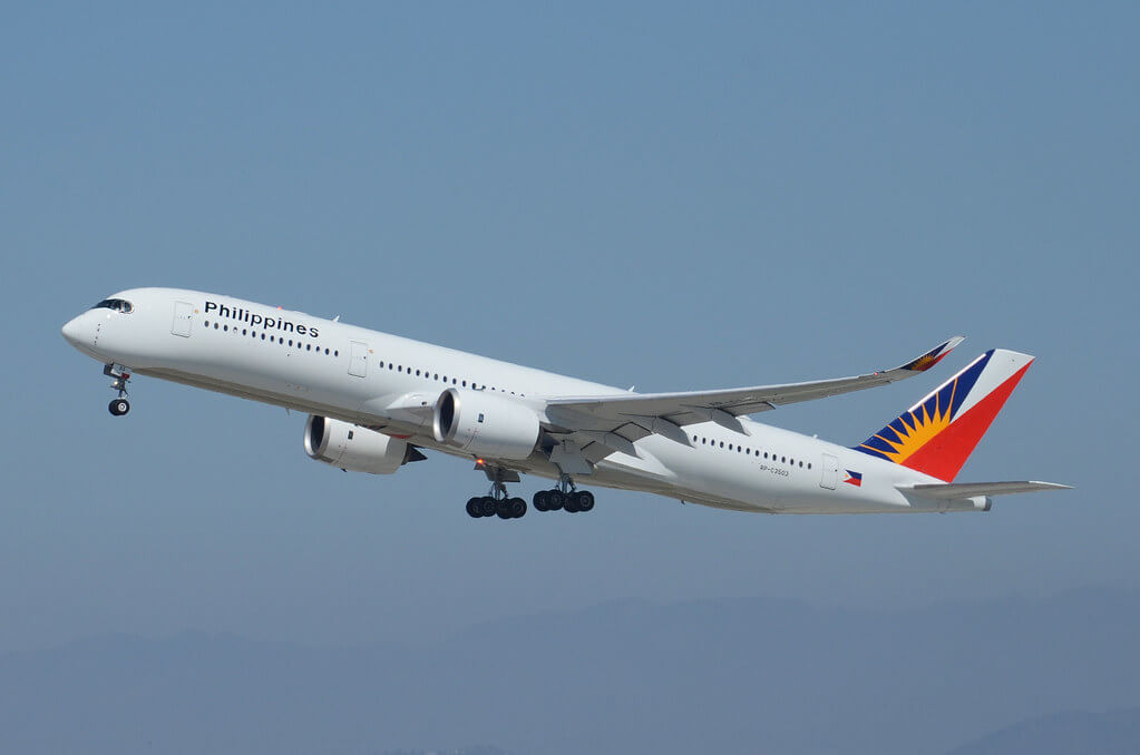 PAL Philippine Airlines RP C3503 Airbus A350 941 at LAX Airport