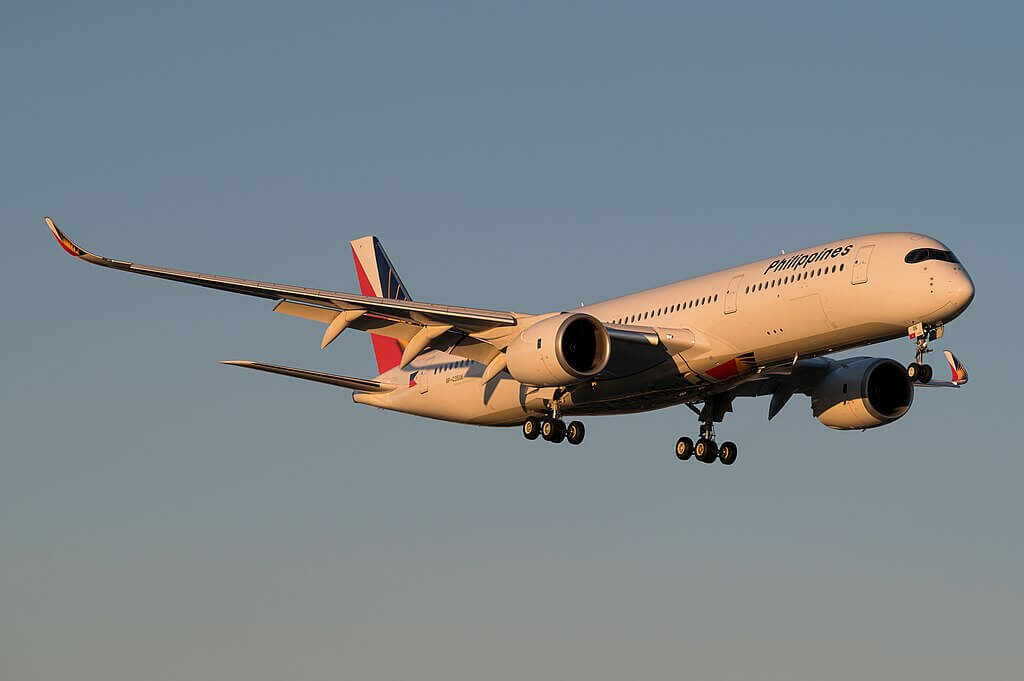 PAL Philippine Airlines RP C3506 Airbus A350 941 at Toronto Pearson International Airport