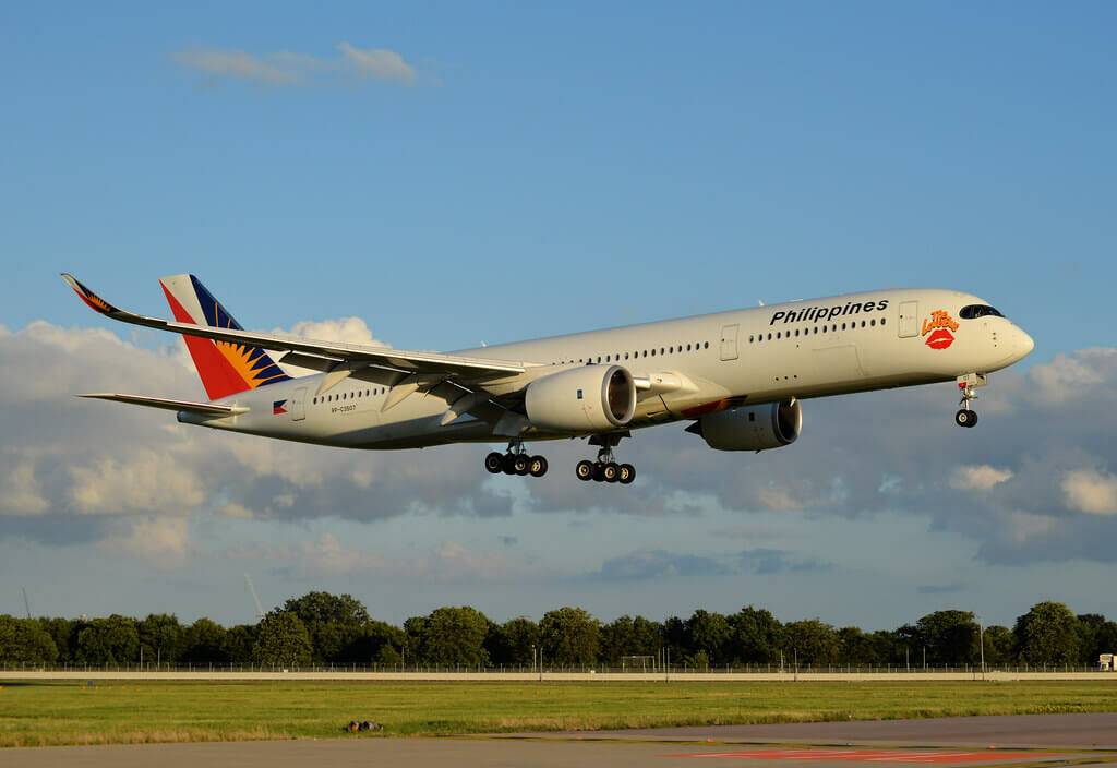 PAL Philippine Airlines RP C3507 Airbus A350 941