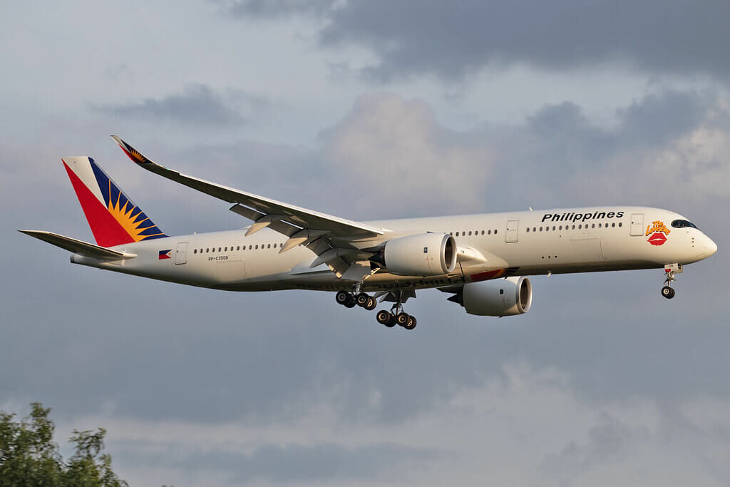 PAL Philippine Airlines RP C3508 Airbus A350 941