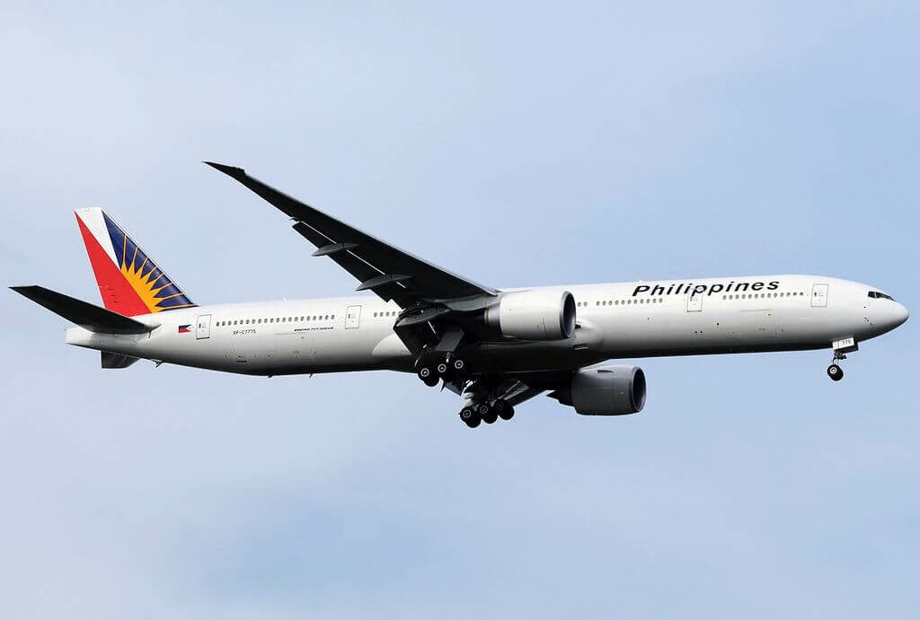 PAL Philippine Airlines RP C7775 Boeing 777 3F6ER at Singapore Changi Airport