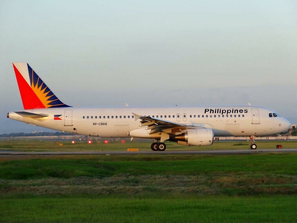 PAL Philippine Airlines RP C8616 Airbus A320 214