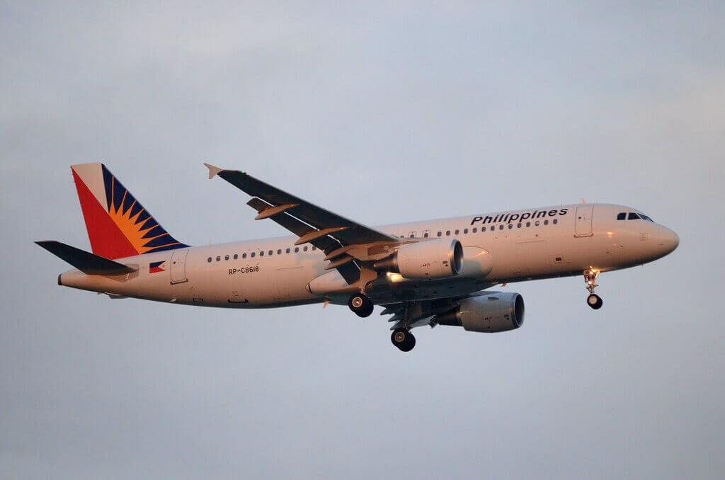 PAL Philippine Airlines RP C8618 Airbus A320 214