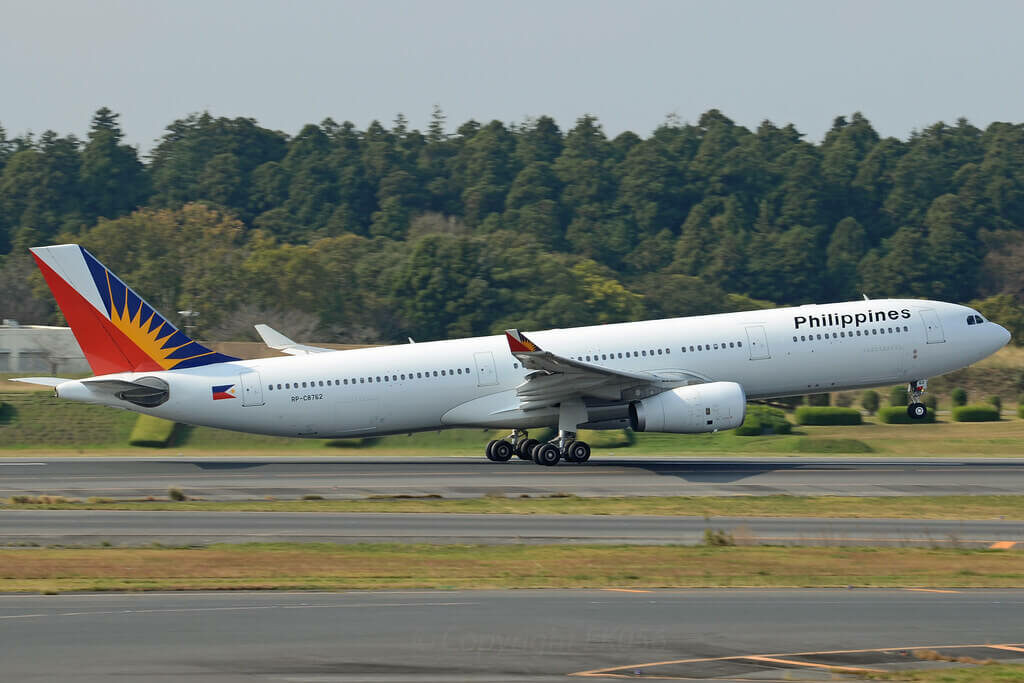 PAL Philippine Airlines RP C8762 Airbus A330 343 at Tokyo Narita
