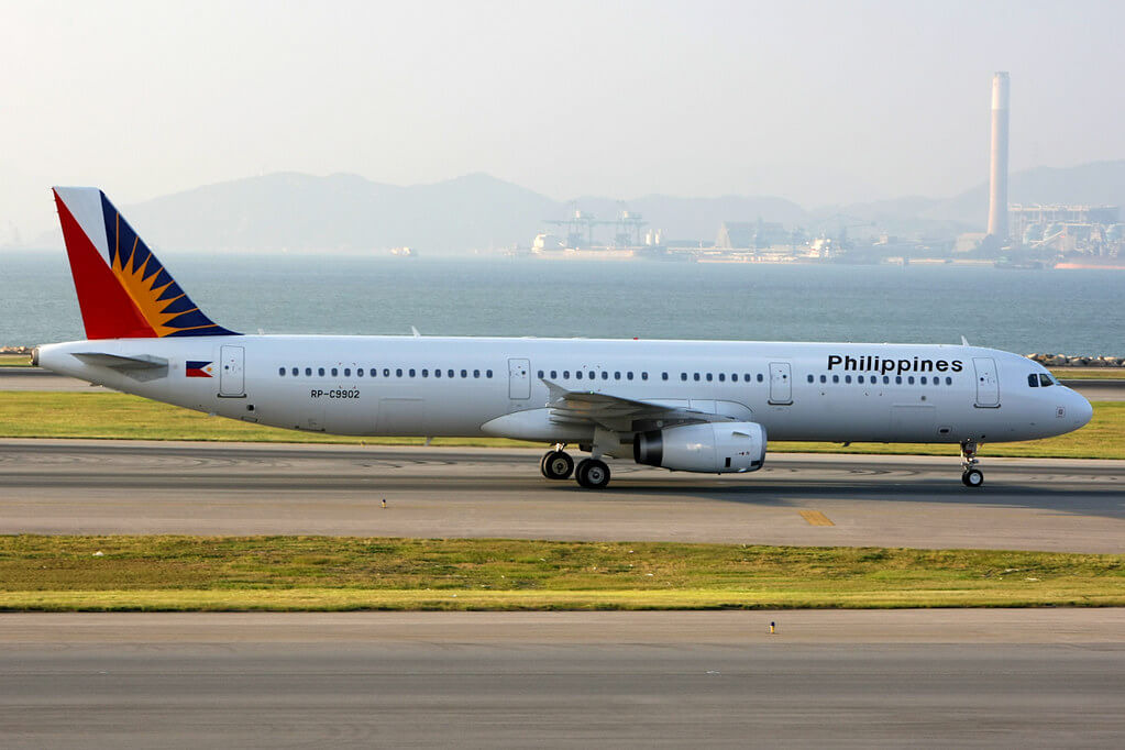 PAL Philippine Airlines RP C9902 Airbus A321 231WL at Hongkong International Airport