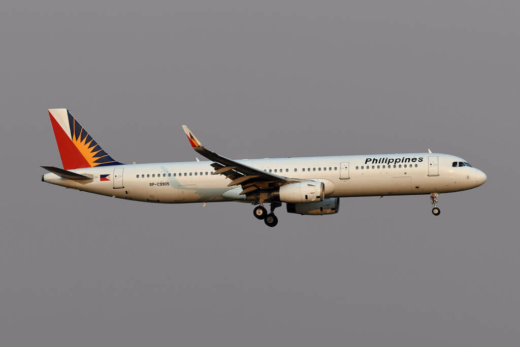 PAL Philippine Airlines RP C9905 Airbus A321 231WL