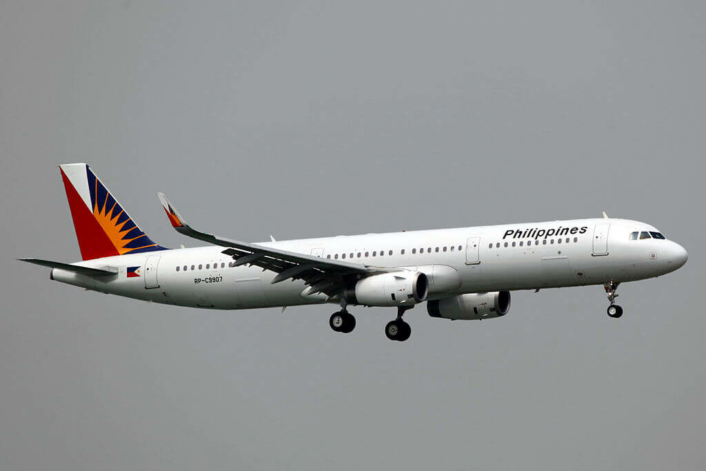 PAL Philippine Airlines RP C9907 Airbus A321 231WL at Hongkong Airport