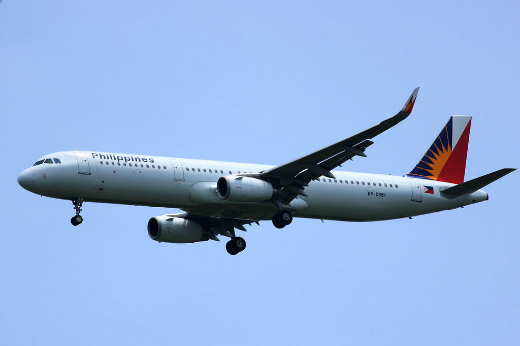 PAL Philippine Airlines RP C9911 Airbus A321 231WL