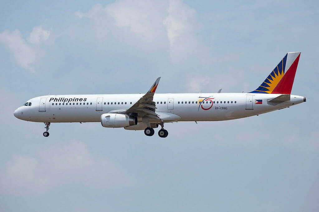 PAL Philippine Airlines RP C9912 Airbus A321 231WL at Bangkok