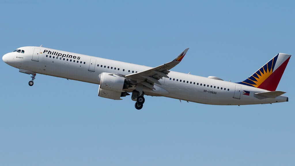 PAL Philippine Airlines RP C9930 Airbus A321 271N at Brisbane Airport