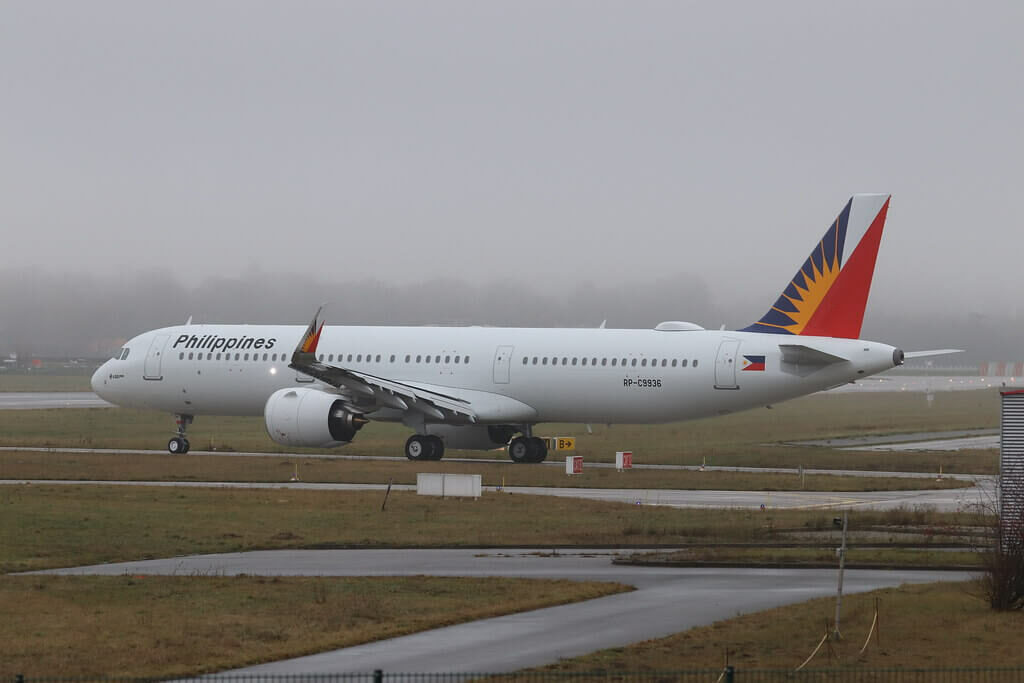 PAL Philippine Airlines RP C9936 Airbus A321 271N