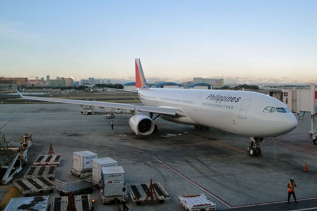 Philippine Airlines Airbus A330 343 RP C8764 at Ninoy Aquino International
