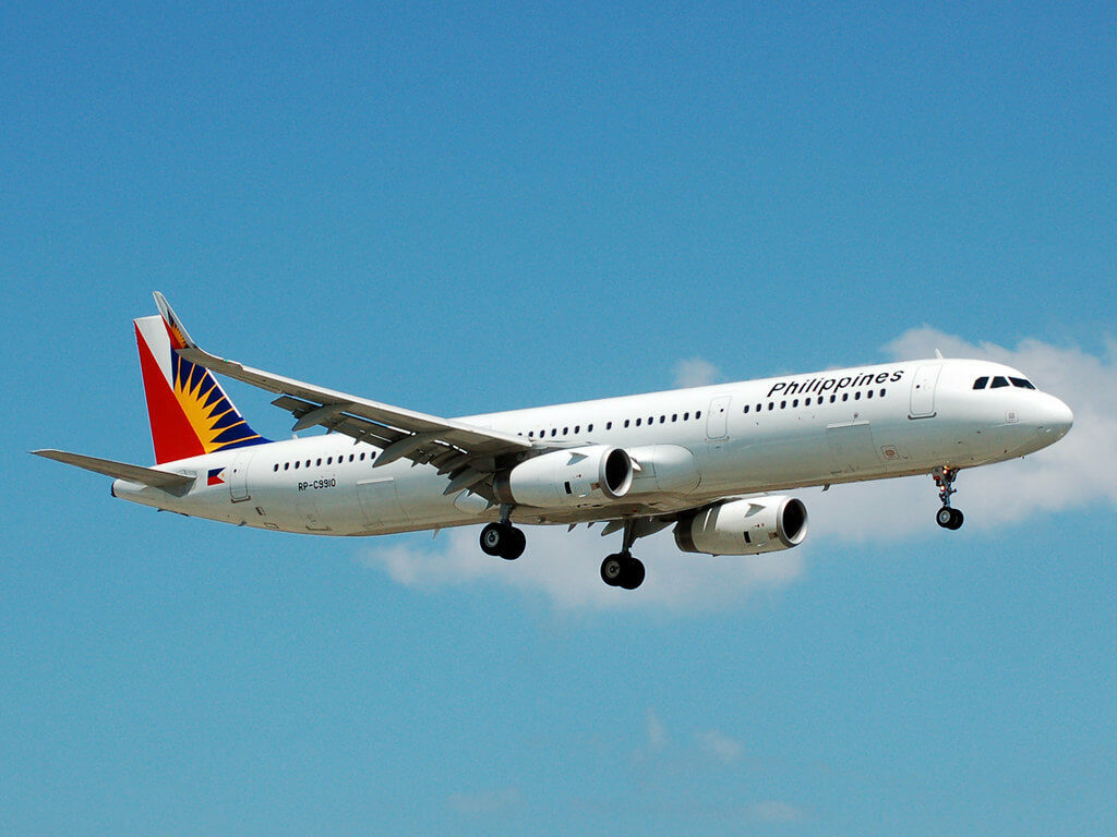 Philippine Airlines PAL RP C9910 Airbus A321 231WL