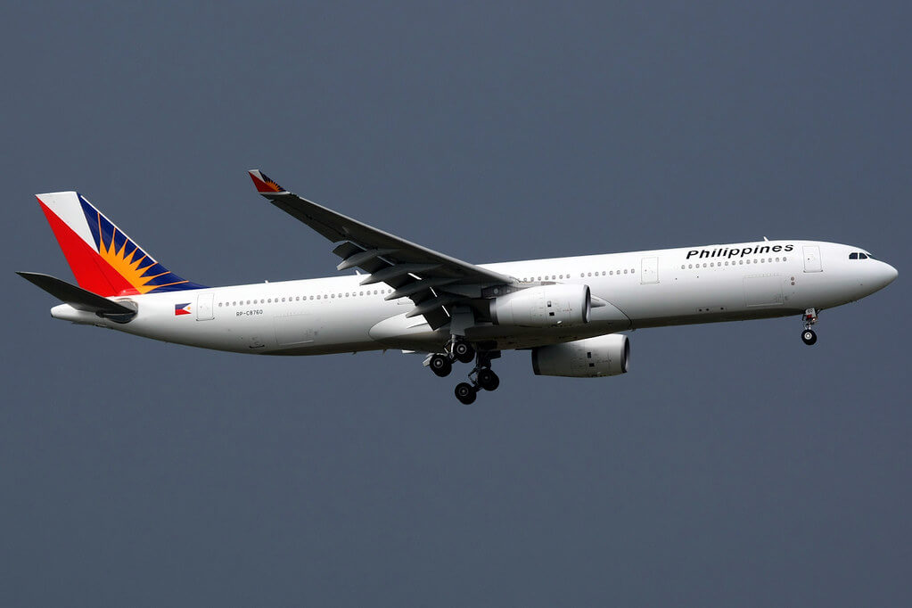 Philippine Airlines RP C8760 Airbus A330 343 at Bangkok Suvarnabhumi