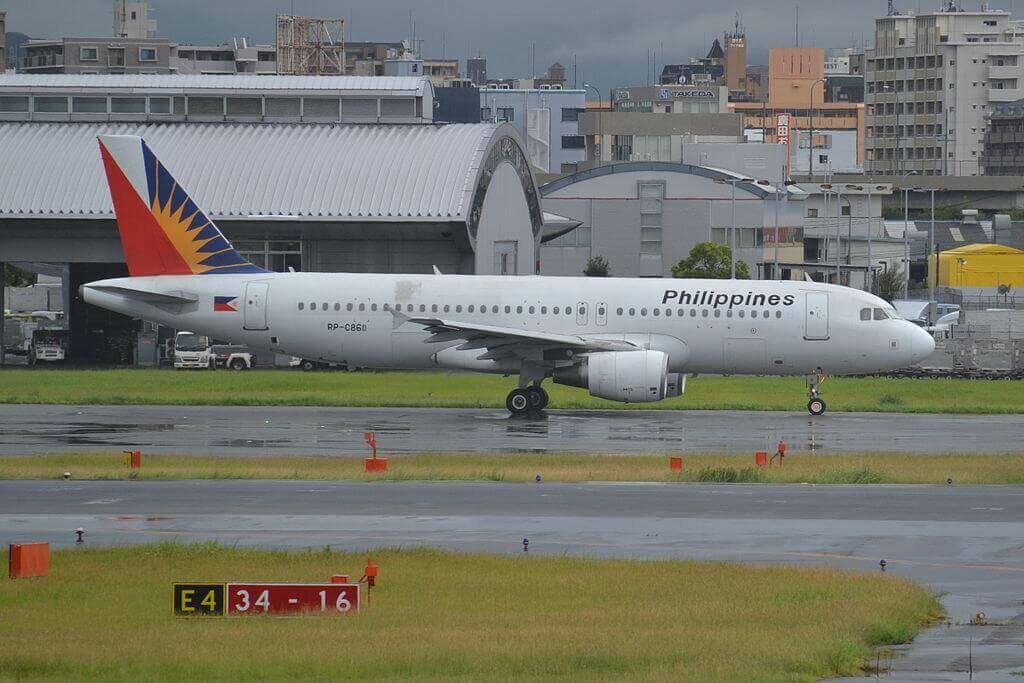 RP C8611 Airbus A320 214 Philippine Airlines at Fukuoka Airport