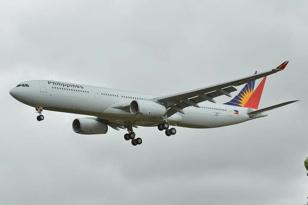 RP C8782 Airbus A330 343 Philippine Airlines at Toulouse Blagnac International Airport