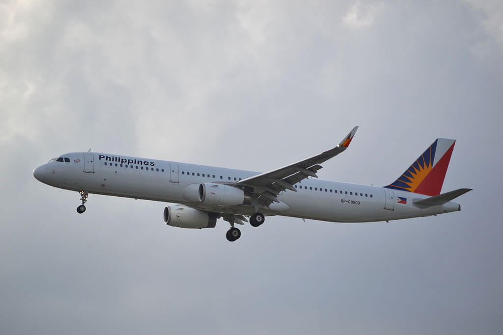 RP C9903 Airbus A321 231WL Philippine Airlines at Suvarnabhumi International Airport