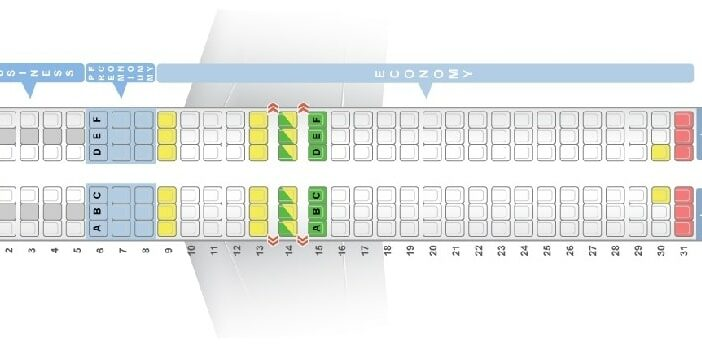 Seat Map and Seating Chart Boeing 737 800 LOT Polish Airlines