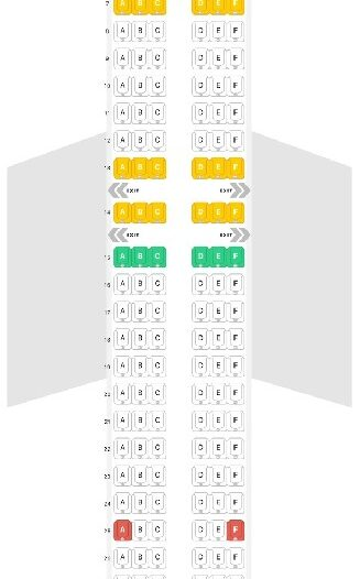 Seat Map and Seating Chart Airbus A321LR neo Aer Lingus