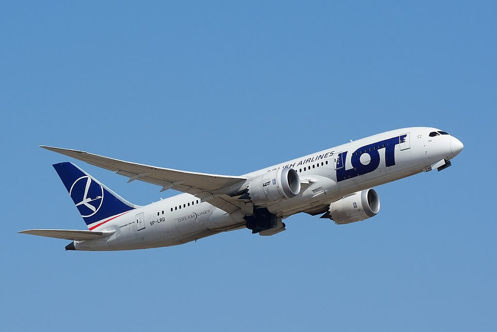 LOT Polish Airlines Boeing 787 8 Dreamliner SP LRD at Narita International Airport