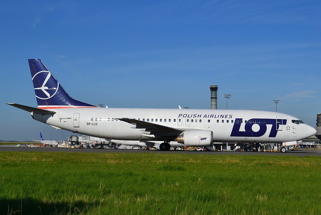 Lot Polish Airlines Fleet Boeing 737