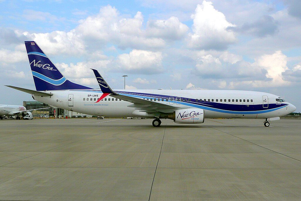 SP LWE Boeing 737 800 LOT Polish Airlines New Gen at London Heathrow Airport