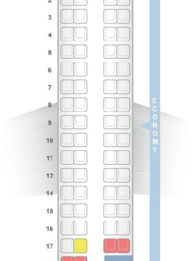 Seat Map and Seating Chart Vietnam Airlines VASCO ATR 72 500