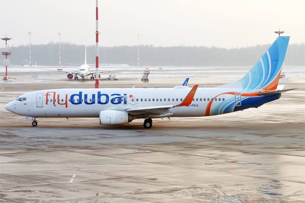 FlyDubai A6 FEA Boeing 737 8KN at Vnukovo International Airport