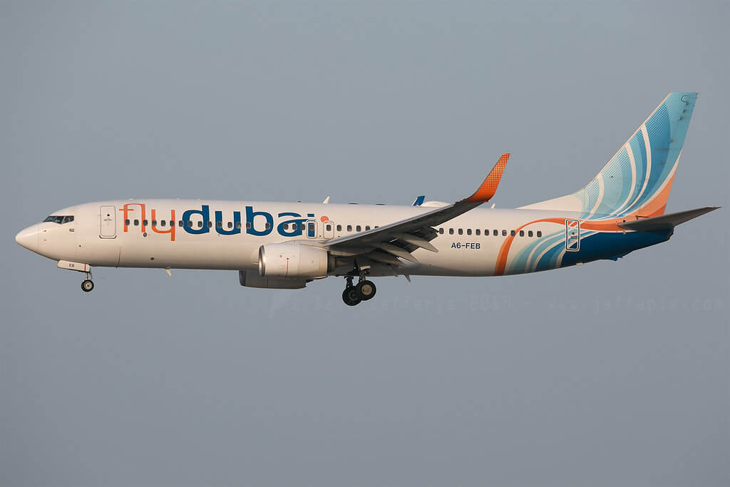 FlyDubai A6 FEB Boeing 737 800