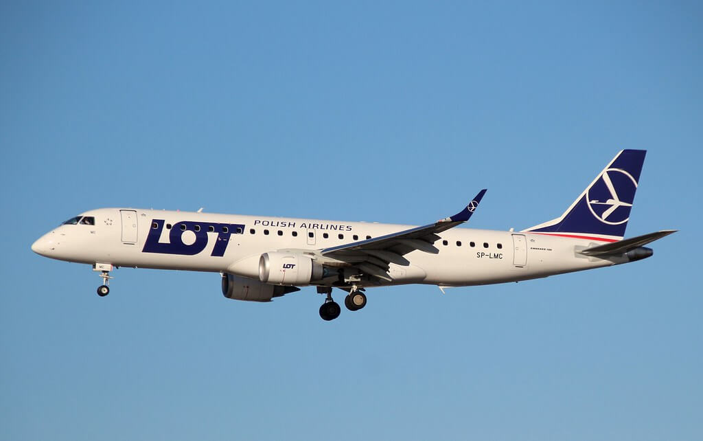 LOT Polish Airlines SP LMC Embraer ERJ 190