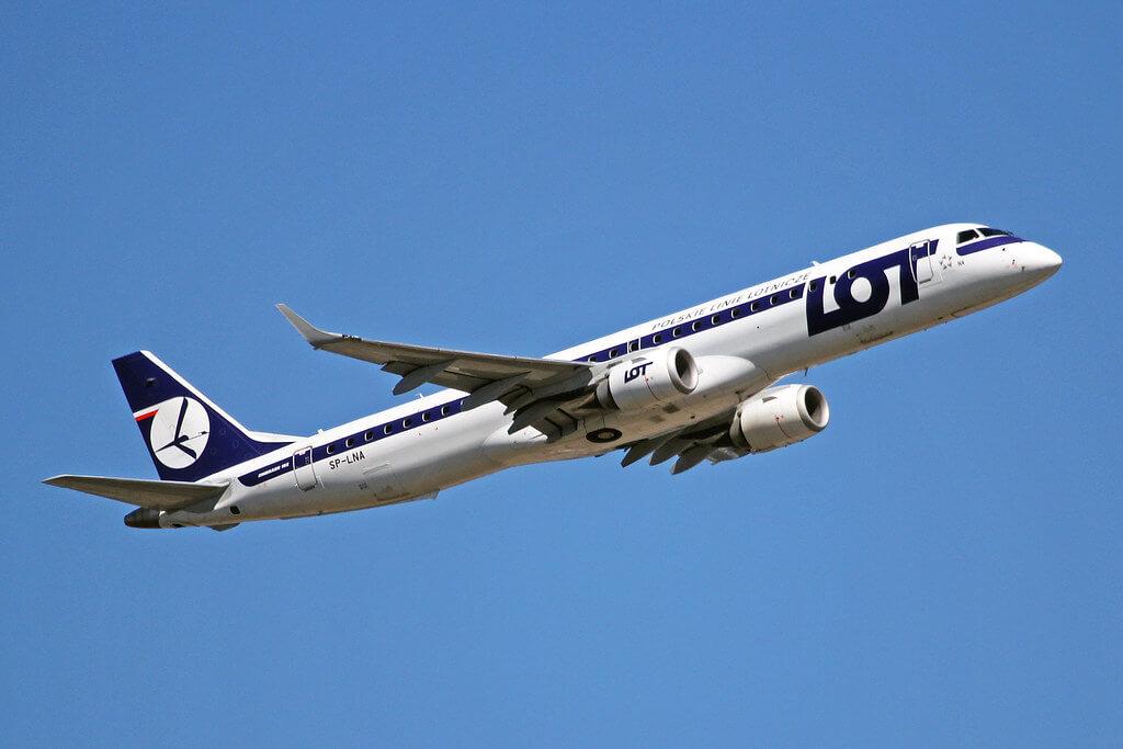 SP LNA Embraer E 190 200LRE 195 LOT Polish Airlines FRA