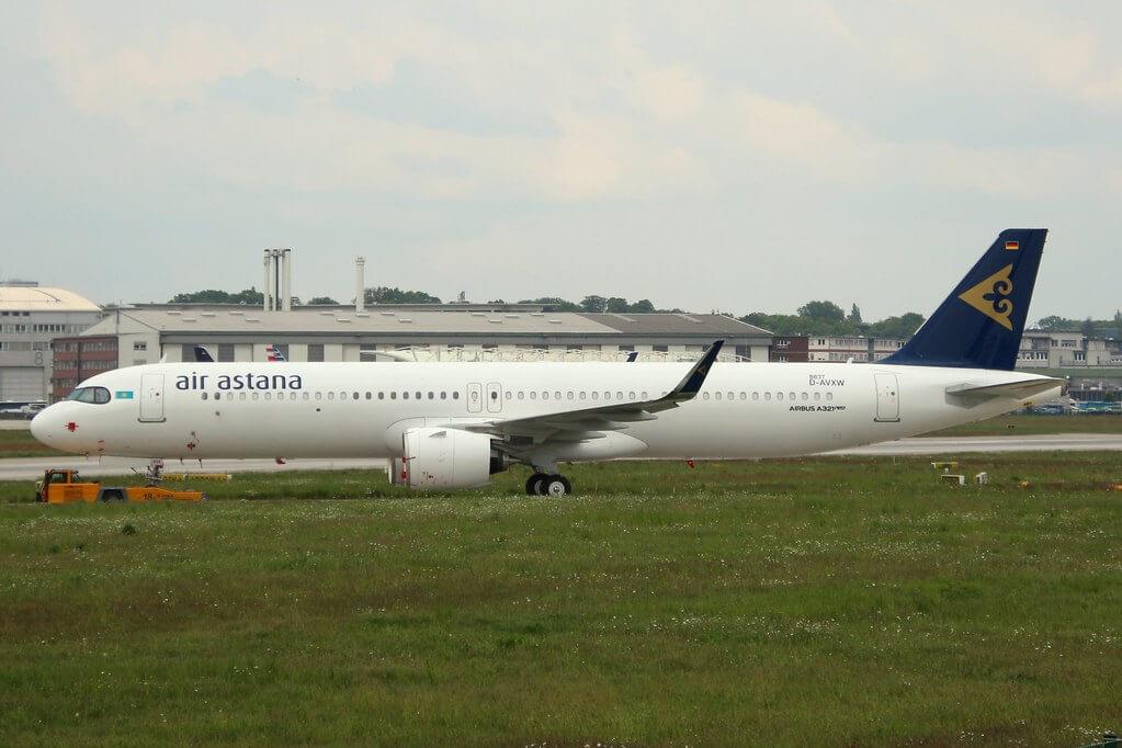 Air Astana D AVXW 4P KGA Airbus A321 271NX