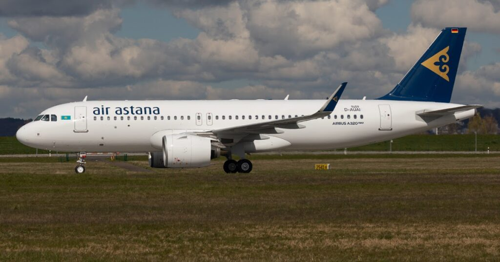 Air Astana P4 KBK Airbus A320neo