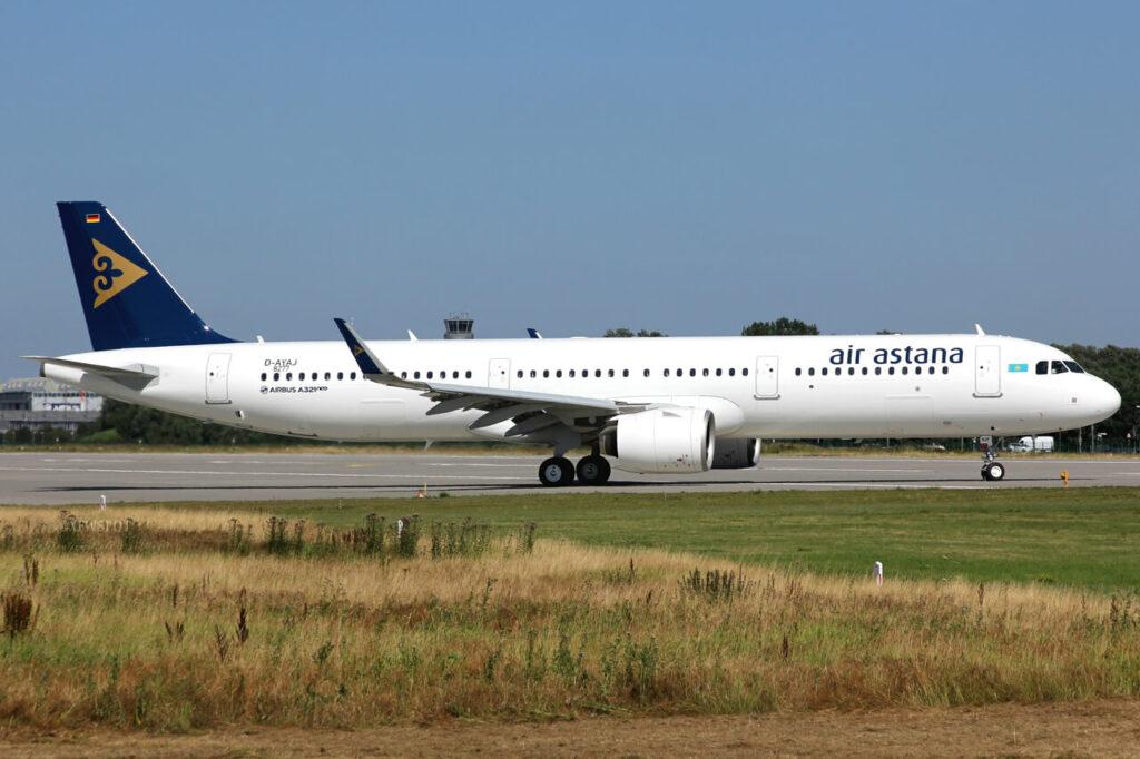 Air Astana P4 KDF Airbus A321neo