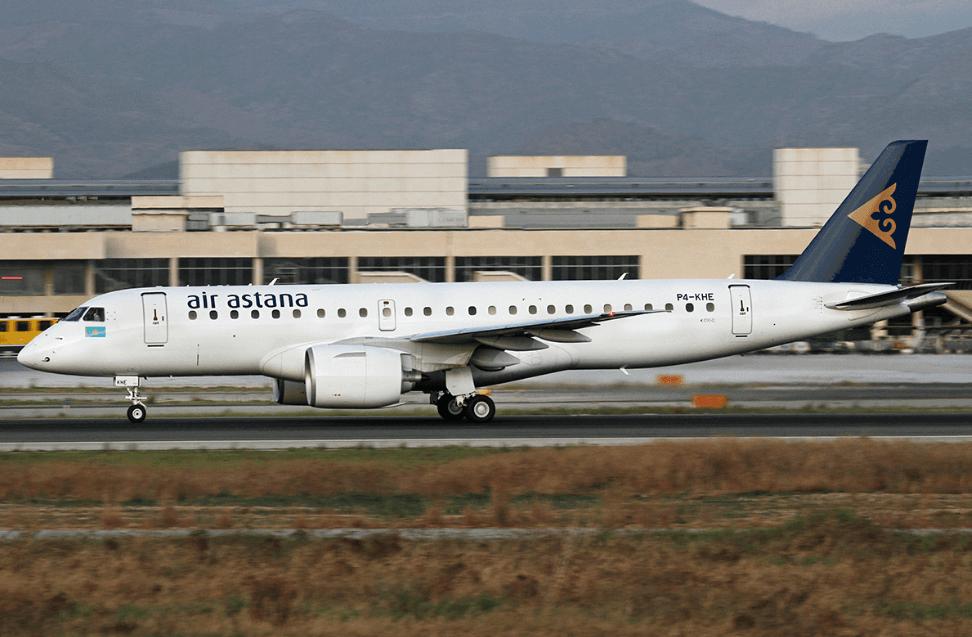 Air Astana P4 KHE Embraer E190 E2