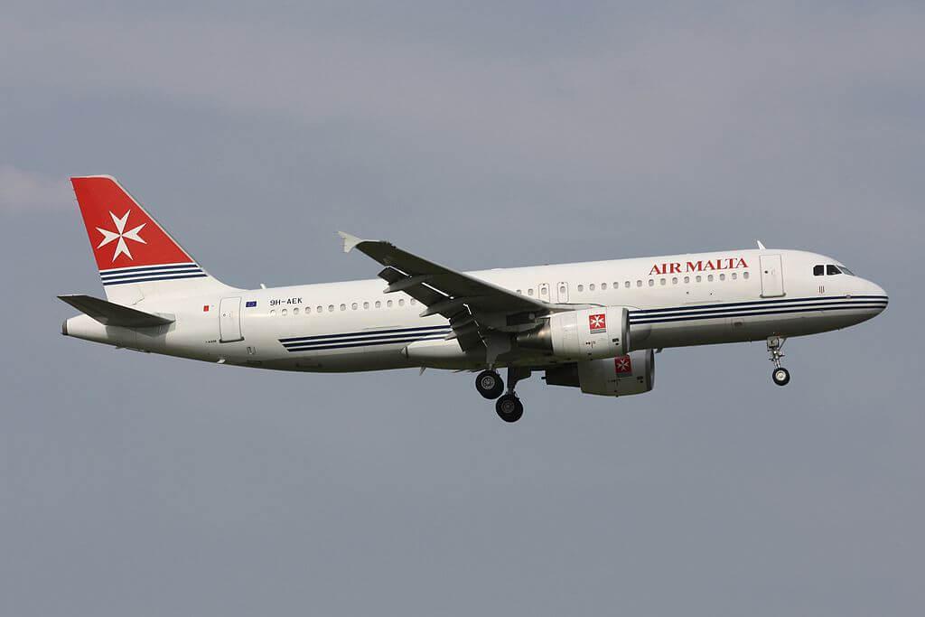 Air Malta Airbus A320 211 9H AEK at Zurich