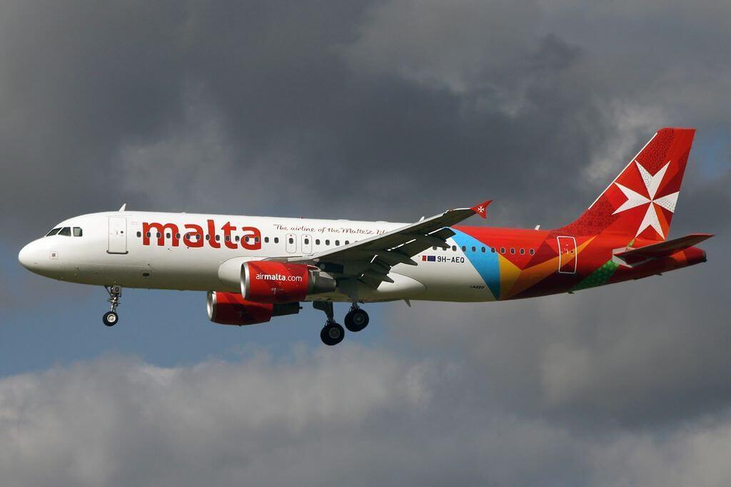 Airbus A320 214 Air Malta 9H AEQ at Amsterdam Airport Schiphol