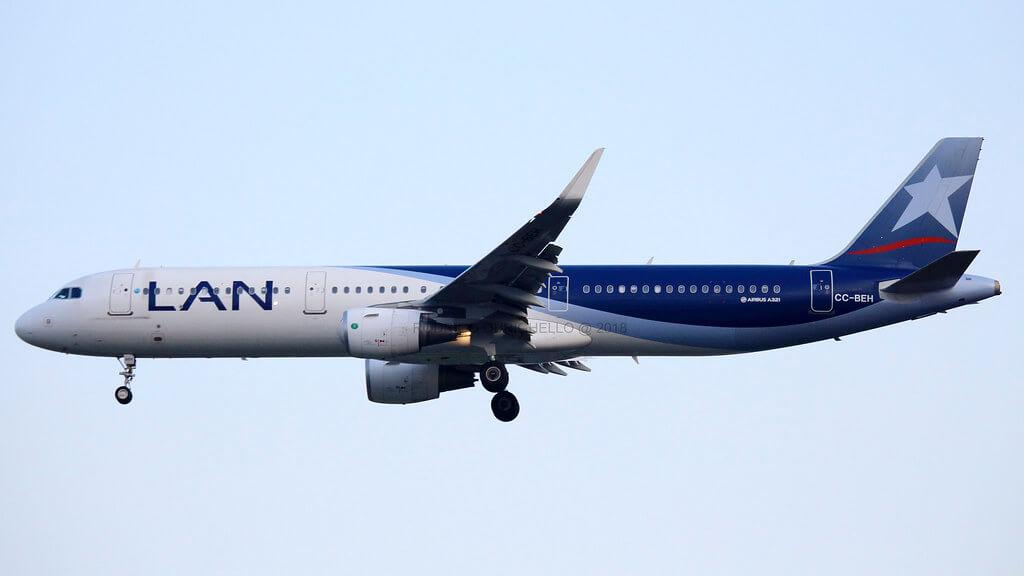 Airbus A321 200 LAN LATAM CC BEH
