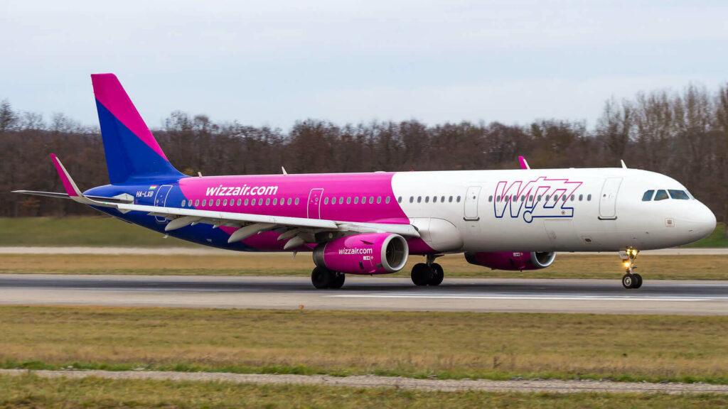 Airbus A321 231WL HA LXB Wizz Air at Basel Mulhouse