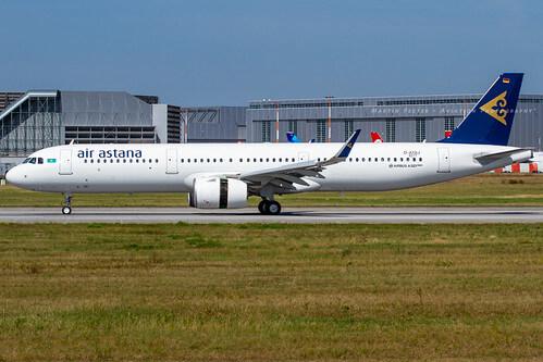 Airbus A321neo P4 KGB Air Astana