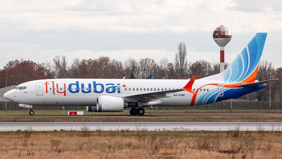 Boeing 737 MAX 8 flydubai A6 FME