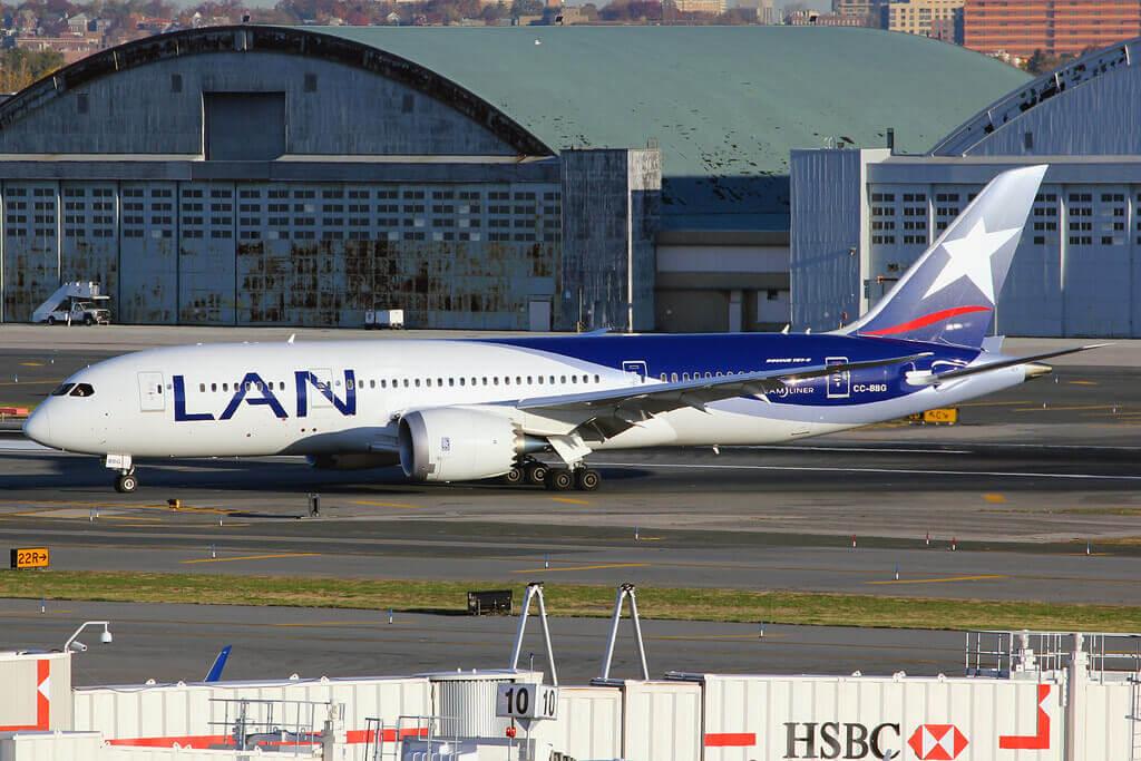 CC BBG Boeing 787 8 Dreamliner LAN Airlines LATAM