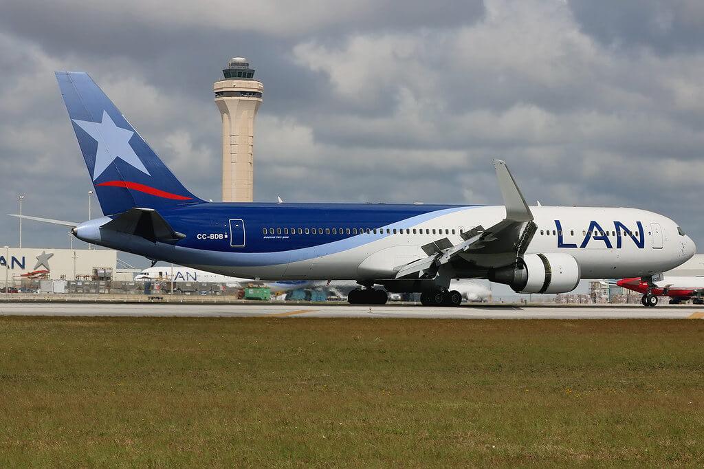 CC BDB Boeing 767 316ERW LATAM LAN Airlines Chile