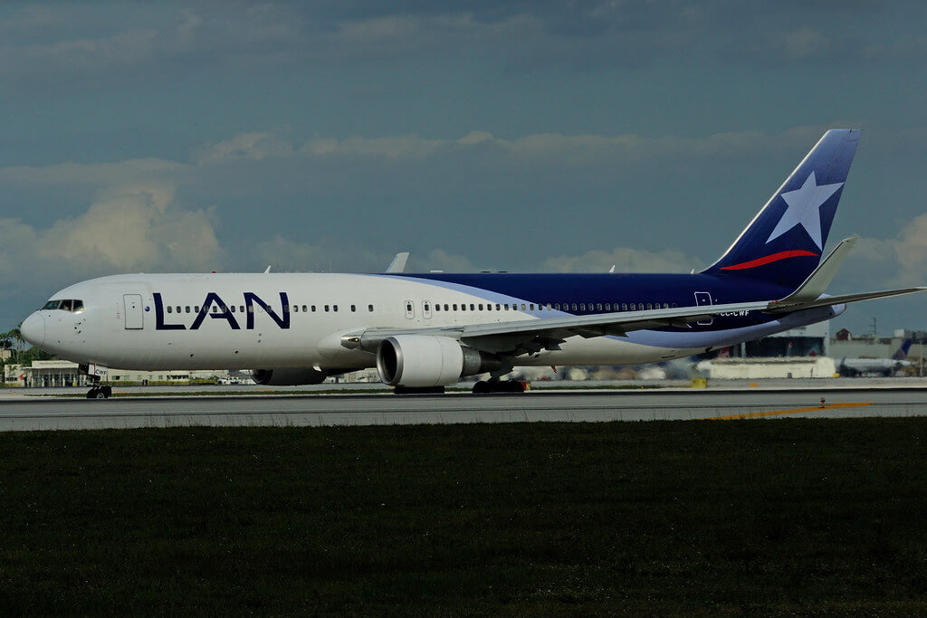 CC CWF Boeing 767 316W LAN Airlines LATAM at Miami International Airport