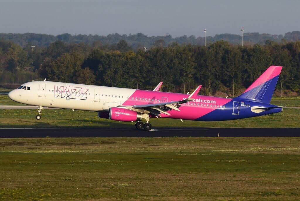 HA LTC Wizz Air Airbus A321 231WL