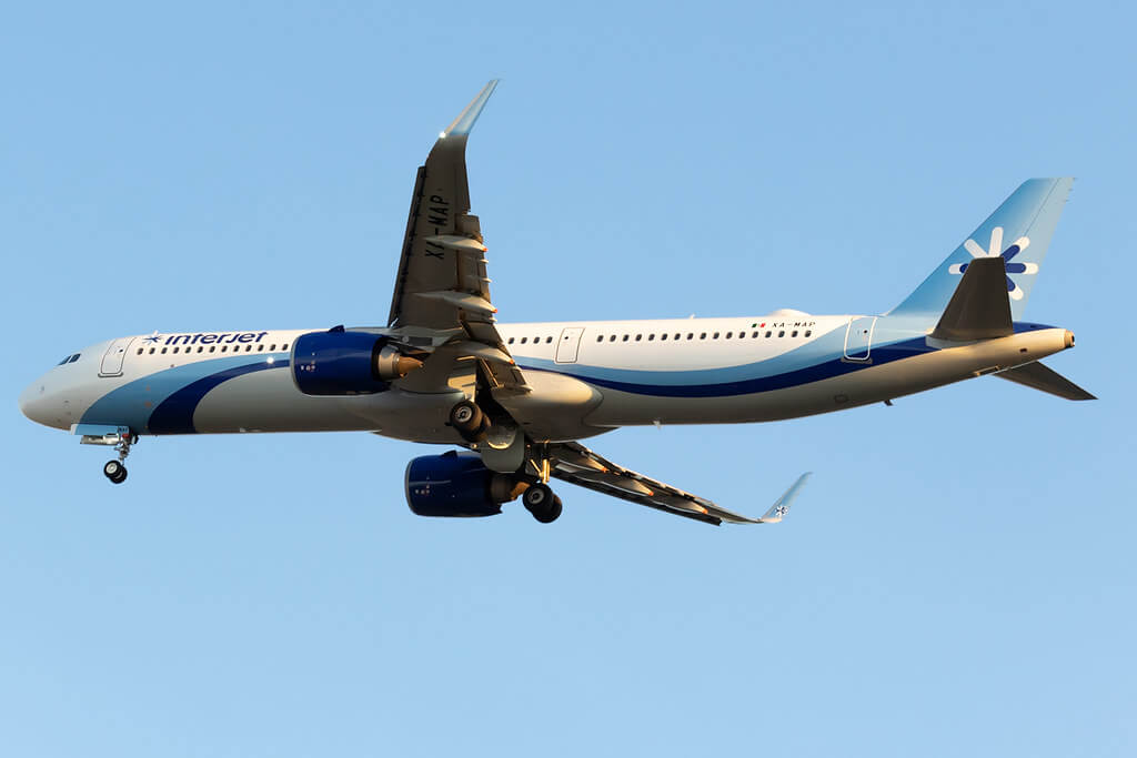 Interjet Airbus A321neo XA MAP at Benito Juarez International Airport