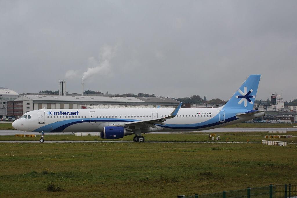 Interjet XA AJB Airbus A321 200