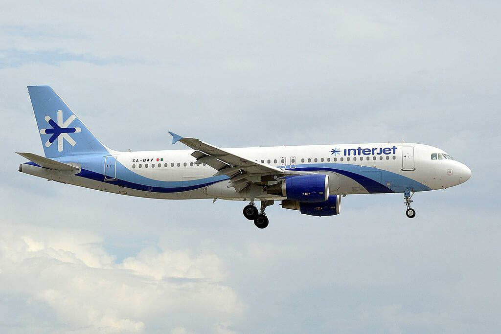 Interjet XA BAV Airbus A320 200 at Miami International Airport